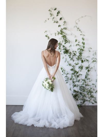 Wedding Gown Mia Riley Bridal Dress Ballgown Lace Romantic Bride